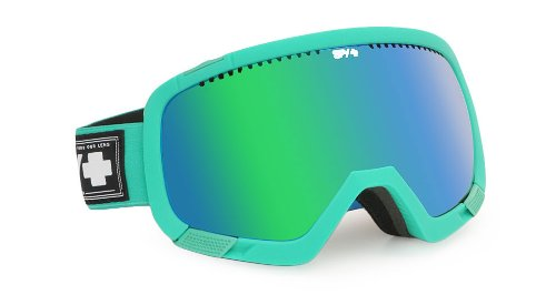 Spy Optic Platoon Snow Goggles (Ultra Teal, Bronze with green Spectra (Blue)) by Spy