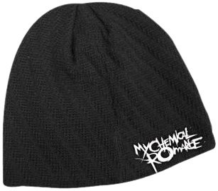 Image Unavailable. Image not available for. Colour  My Chemical Romance -  Stitched Logo Beanie Hat 584f8b87fde0
