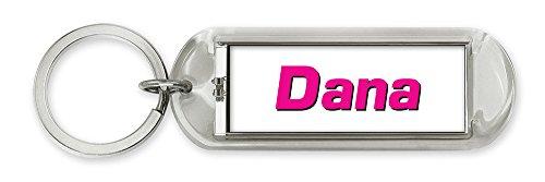 Dimension 9 Personalized Solar Flashing Keychain - Dana (10147)