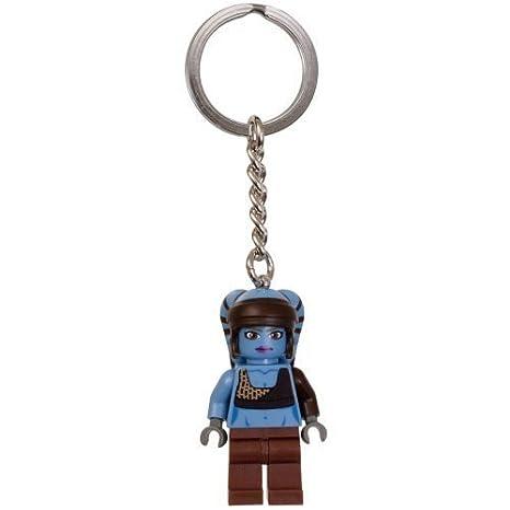 LEGO Star Wars Aayla Secura Key Chain 853129 by LEGO: Amazon ...