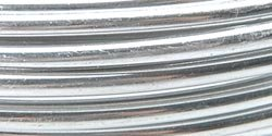 Aluminum Floral Wire 12 Gauge 5 Yards-Silver