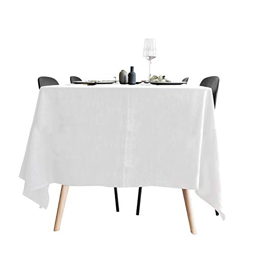 Surmente 90 x 132-Inch Rectangular Polyester Tablecloth Weddings, Banquets ()