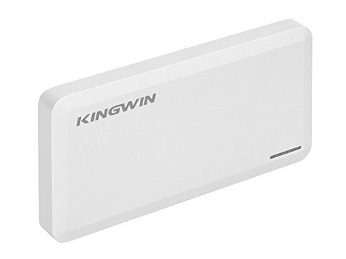 Kingwin SSD Hard Drive Enclosure USB 3.1 [Gen 2] USB C for SATA Based M.2 NGFF B / B+M Key Dual SSD [RAID].  Up to 10 Gbps Transfer Speed, Support UASP, Hot Plug & Play, LED For Access & Power by Kingwin (Image #4)