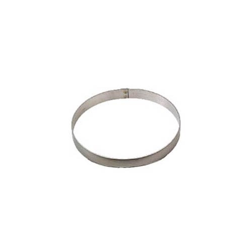 Allied Metal CRS9134 Stainless Steel Cake Ring with Smooth Deburred Edge, 9 by 1-3/4-Inch