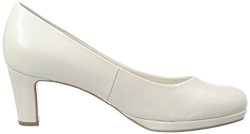 Shoes Zapatos Gabor Mujer Blanco absatz Tacón de Fashion Off para white Gabor d5twfqd