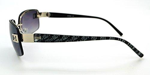 Lens grande Hot de Lunettes pour femme étui et Pour Frame gratuit soleil Black Vox classique homme Smoke Mode tendance de qualité W microfibre OBtPBf