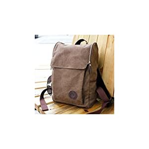 Men's Vintage Canvas backpack Rucksack Shoulder travel Camping Bag Satchel 1013