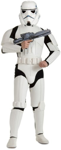 Stormtrooper Costumes Blaster (Deluxe Stormtrooper Costume - X-Large - Chest Size 46-52)