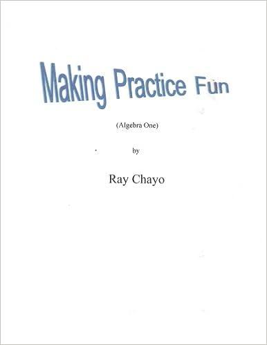 Amazon.com: Making Practice Fun -Algebra One: Algebra One ...