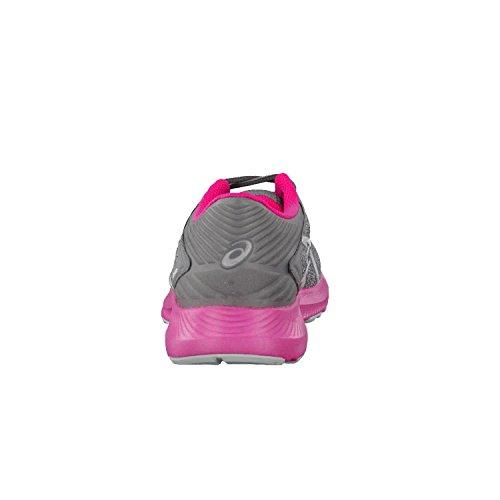 Asics Nitrofuze Women's Running Shoes (T6H8N) Midgrey-White-Sport pink