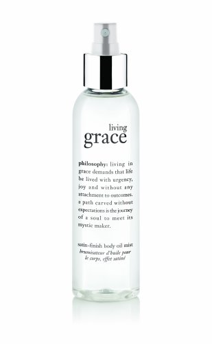 Satin Body Oil (Philosophy Living Grace Body Oil, 5.58 Ounce)