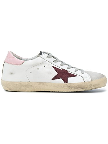 Golden Goose Sneakers Donna G32WS590E75 Pelle Bianco