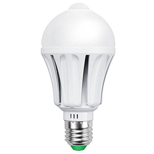 Irainy E27 12w Led Infrared Motion Sensor Pir Warm Light