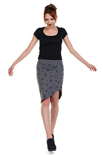 casual Falda Berl en Mujer a Ropa la rodilla 3elfen hecha Verano f5qYZY
