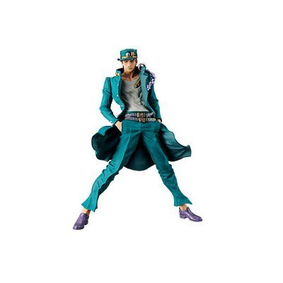 Banpresto Jojo's Bizarre Adventure Stardust Crusaders Jojo's Figure Gallery 6 x Diamond Records Jotaro Kujo Figure
