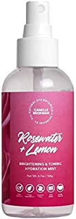 product image for Camille Beckman Spa Botanicals Skincare, Rosewater & Lemon, Brightening & Toning Hydration Mist 4.7 oz