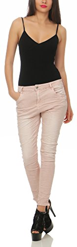 Lexxury Baggy Chino Pour Jeans Pantalons Femmes Cl Copain 2760 Rose x6r6pwqIan
