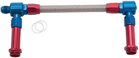 Russell Performance Products 641150 #8 DUAL INLET FUEL LINE