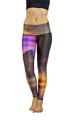 Teeki Clouds Yoga Hot Pant