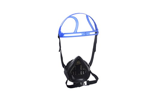 Dräger X-plore 2100 EPDM Half Mask with 5 Particle Filters P100 | One Size Fits Most | Silicone-Free NIOSH-Approved Reusable Respirator Mask by Dräger (Image #3)