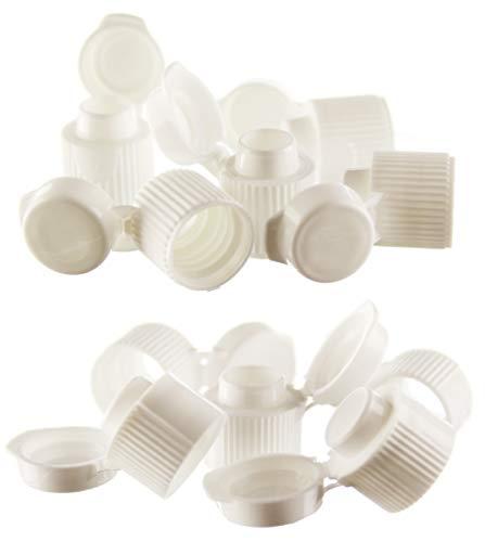 2 x 5 Toothpaste Flip Top Caps for Crest - Close-Up - Colgate - Aquafresh and More.