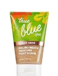 Bath & Body Works True Blue Spa Malibu Beach Pedicure Foot Scrub