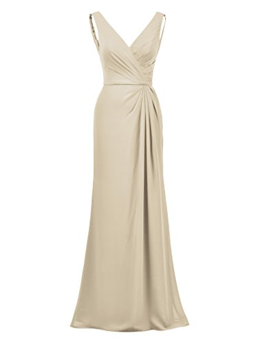 Alicepub Maxi Dress Formal Bridesmaid Dresses Mermaid Elegant Evening Prom Gown