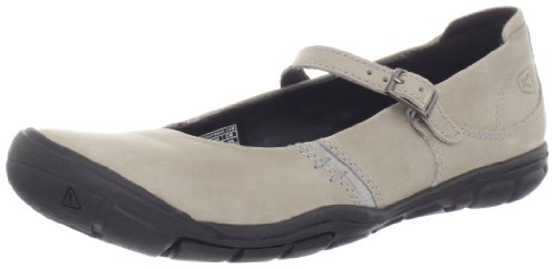 Keen Leather Mary Janes (KEEN Women's Delancey MJ CNX Shoe,Neutral Gray,6.5 M US)
