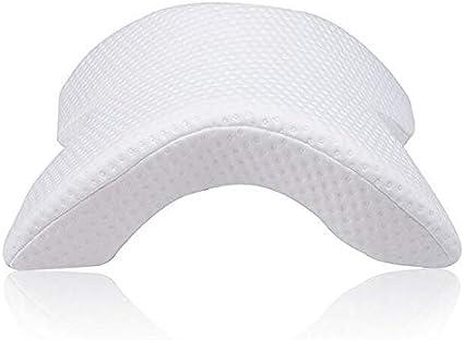 Almohada De Ropa De Cama De Espuma De Memoria Almohada De Mano Anti-presión Multifunción Almohadas De Cuello De Salud Almohada De Tratamiento Cervical Almohada ( Color : Memory Foam White , Size : 1 )