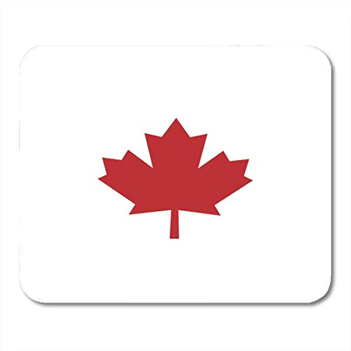 Country Maple Desk (Mouse Pads Color Autumn Canada Leaf Red On White Maple Canadian Country Pad 9.5 X 7.9 for Notebooks,Desktop Computers Mats, Office Supplies)