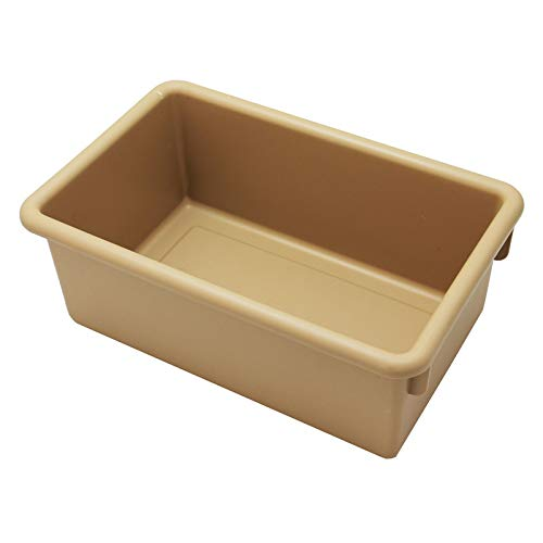 Mahar Manufacturing (3 Ea) Creative Clrs Cubbi Tray Tan from Mahar Manufacturing