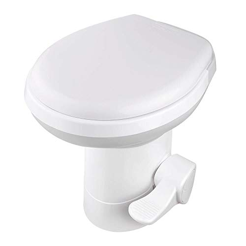 Camper Toilet Gravity Flush Toilets Gravitation Foot for Travel Camping Home House Indoor & Outdoor Use Jaunt Voyage Roam Jaunt Tour Roam Journey Voyage Latrine Lavatory