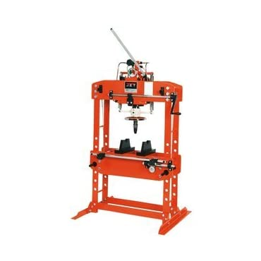 JET HP-35A (331431) H-Frame 35-Ton Hydraulic Shop Press with Gauge