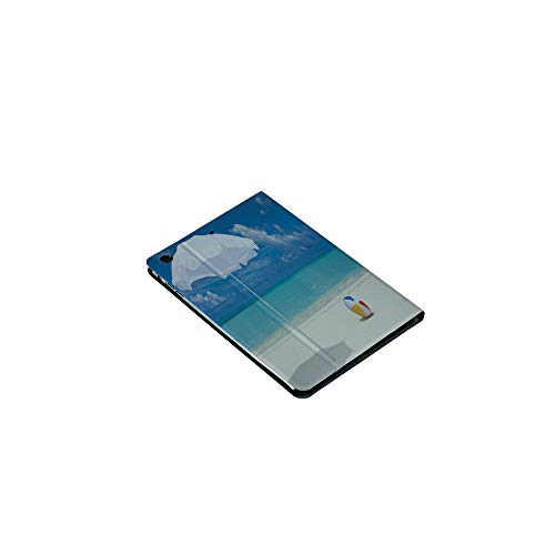 3D Printed iPad Mini1/2/3Case,Seashore Ocean View Sunny Ball Waves Sands Artwork, [Auto Wake/Sleep Function] Magnetic Closure Flip Anti-Scratch Shell Compatible with Apple iPad Mini123(7.9 ()