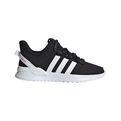 adidas Originals Baby U_Path Running Shoe, Black/White/Shock red, 4K M US Toddler