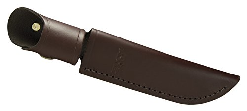 - Buck Knives 105 Pathfinder Fixed Blade Knife with Leather Sheath
