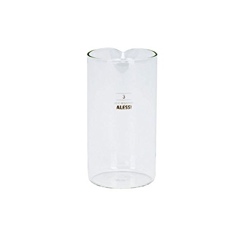 Alessi 35740 Replacement Glass for Coffee Press 11 ounce