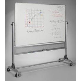Balt Reversible Porcelain - Balt Reversible Platinum Whiteboard - Porcelain, 72
