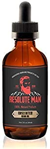 Sweepstakes: Resolute Man Unscented Beard Oil & Leave Conditioner…