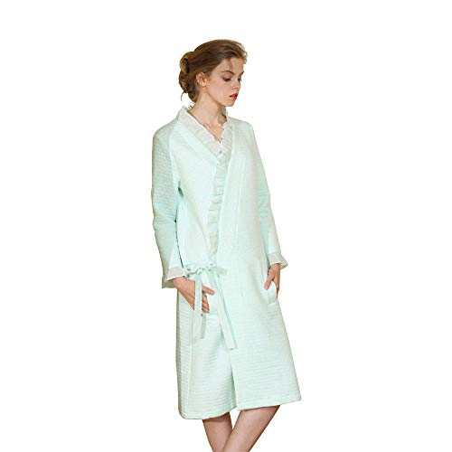 (Lookatool LLC New Women Long and Thick Robe and Home Gown with Cotton)