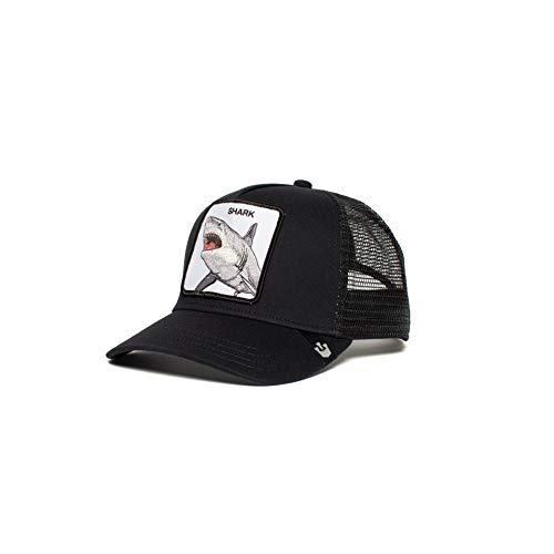 Goorin Bros. Exclusive Animal Farm Snapback Trucker Hat (Black Black)