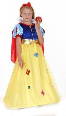 LUCIDA - Disfraz de Blancanieves para niña, talla 11-14 años ...