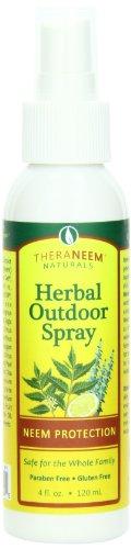 THERANEEM Theraneem Outdoor Herbal S, 4 - Herbal Spray Outdoor