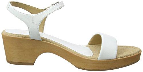 Irita Caviglia White alla con Sandali na 18 Unisa Bianco Donna Cinturino PxqRAHSSn