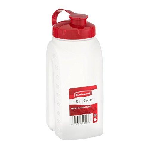 Rubbermaid 1776348 1 Quart Servin' Saver White Bottle