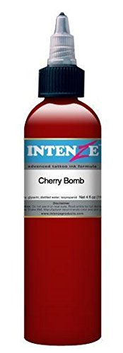 Tattoo Cherry (Intenze Tattoo Ink - Cherry Bomb - 2oz Bottle)