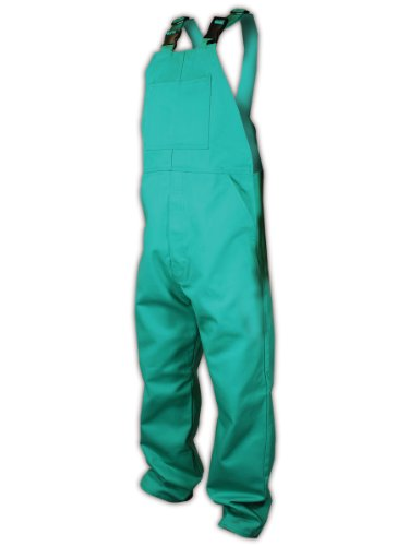 magid-c81n586-sparkguard-100-percent-cotton-flame-resistant-flame-resistant-bib-coverall-large-green
