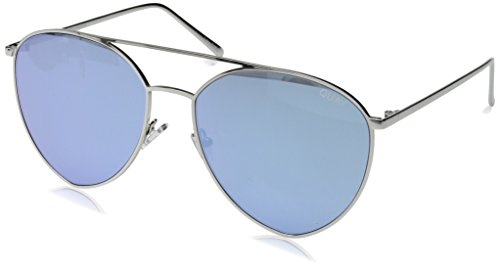 Quay Women's x Jasmine Sanders Indio Sunglasses, Silver/Blue, One - Sunglasses India