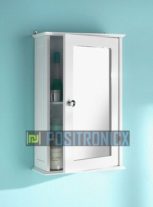 dy&dx Single Bathroom Wall Cabinet Mirror