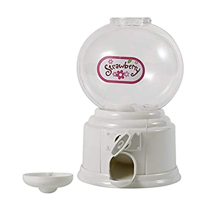 Candybush Máquina dispensadora de chicles, Mini máquina expendedora de Burbujas de Caramelo, Dispensador de